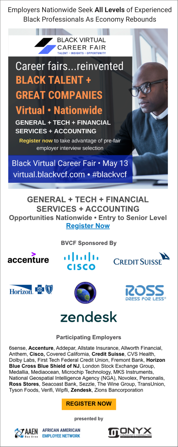 Black Virtual Career Fair | May 13,2021