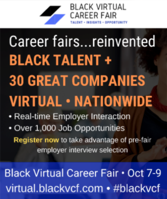 Black Virtual Career Fair | Oct 7-9, 2020